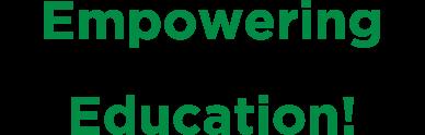 Empowering dreams through education