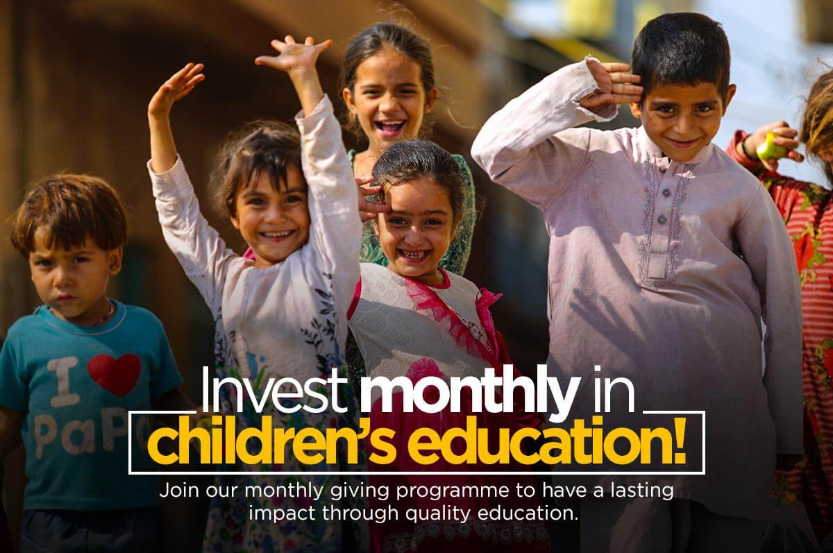 Invest monthly in education to join TCF Membership programme